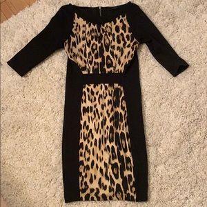 Zara Small Leopard Print Dress